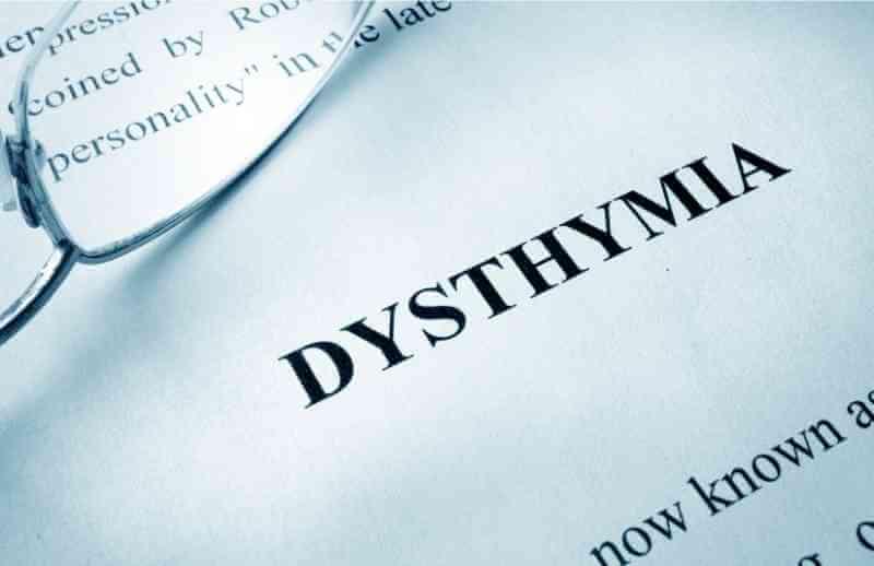qué es la distimia